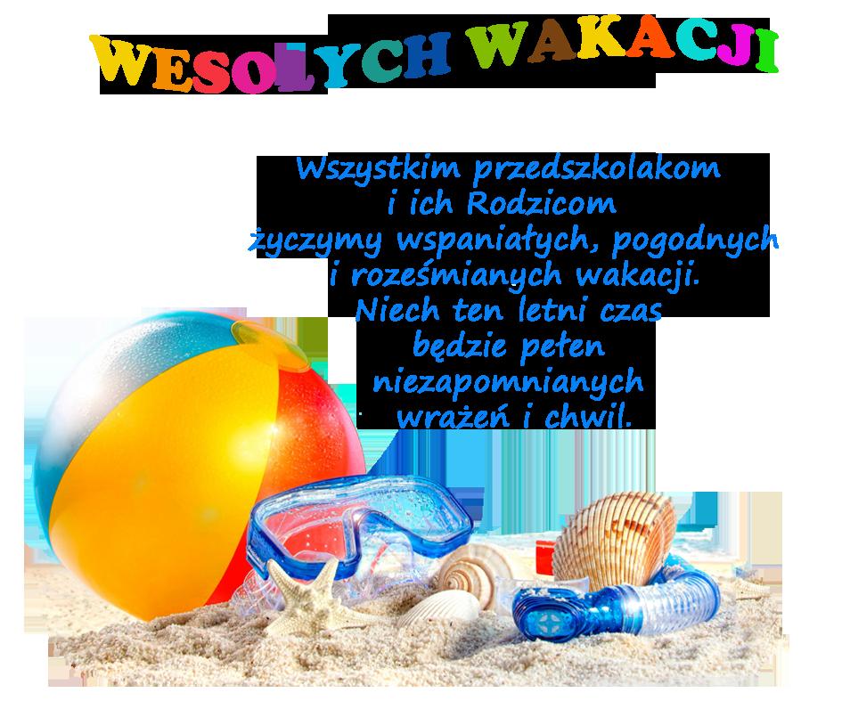 Znalezione obrazy dla zapytania życzenia na wakacje przedszkole