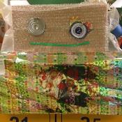 Dziwolągi z odpadów - prace uczniów klas: IV i V - zajęcia techniczne 2018 r._4