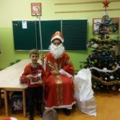 Święty Mikołaj odwiedził zerowiaki