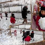 Śnieżne szaleństwa na pierwszym śniegu
