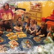 """""""W świątecznym nastroju… """" - projekt edukacyjny Żabek"""
