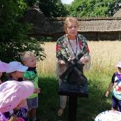 Wsi spokojna, wsi lubelska… czyli jak przedszkolaki Skansen poznawały