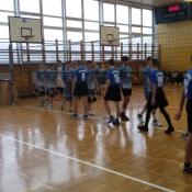 Awans reprezentacji siatkarzy w gimnazjum