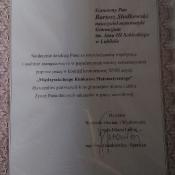 Krzysztof Stasiak nagrodzony w konkursie matematycznym