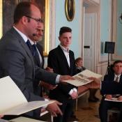 Pan Jacek Bury otrzymał nagrodę Młodzieżowej Rady Miasta Lublin