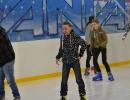 Drugie klasy gimnazjum na lodowisku Icemania