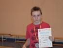 II miejsce Piotrka Krzaka z II GA