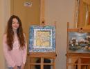 Malarstwo Anny Jabłońskiej z klasy I GB