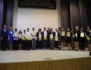 Spotkanie laureatów konkursów przedmiotowych z Prezydentem Miasta (9.06.2015)