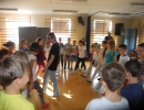 Tańce irlandzkie w Chrobrym 15.09.2015r.