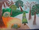 Zazielenił się Chrobry ...rysunkami wiosny 2014r.
