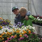 1c wśród kwiatów (24.04.2019)