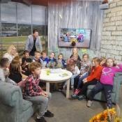 3b poznaje tajniki pracy w telewizji (24.10.2019)