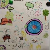 5b projektuje ortograficzny ogródek (15.05.2018)