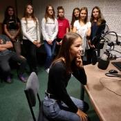 8a zwiedza Radio Lublin (1.10.2018)