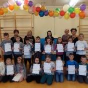 Apel klas młodszych z wręczeniem nagród 2019-02-07