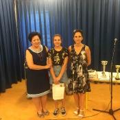 Apel na zakończenie roku szkolnego 2017-2018 - klasy starsze