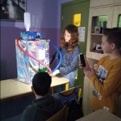 Ciekawa lekcja języka polskiego w klasie 6A