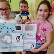 Ciekawa lekcja o Antarktydzie w 2a (2.02.2021)