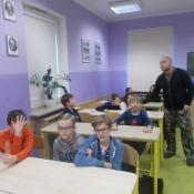Ciekawe zajęcia o stawonogach w klasach 5 (9.10.2016)