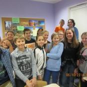 Koleżanka z Norwegii w naszej szkole