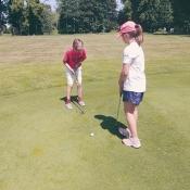 Czwartoklasiści  na polu golfowym i w Aqua Lublin (czerwiec 2021)