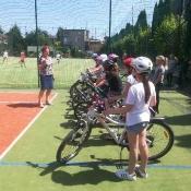 Egzamin na kartę rowerową klas IV - 05.06.2019 r.