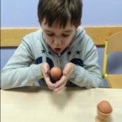 Fizyczne jaja - warsztaty w klasie IVA