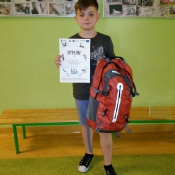 Franek Siwiec laureatem Konkursu Wiedzy o PPN (7.06.2017)