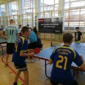Igrzyska Młodzieży Szkolnej w Tenisie Stołowym Drużynowym (13.12.2017)