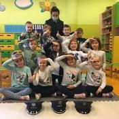 Klasa 0b poznaje zawody - odwiedziny Mamy Mateuszka (16.03.2021)