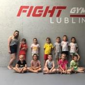 Klasa 0B w Fight Gym Lublin (16.06.2021)