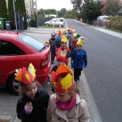Klasa 1a na jesiennym spacerze (26.09.2016)