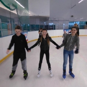 Klasa 5b na lodowisku Icemania (22.02.2017)