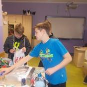 Klasa 6b projektuje roboty (29.01.2016)