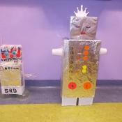 Klasa 6c projektuje roboty (23.02.2017)
