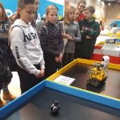 Klasa 7a w parku nowoczesnych technologii (4.12.2019)