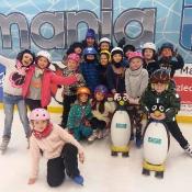 Klasa III B świętuje rychłe zakończenie zimy na lodowisku - 2018 r.