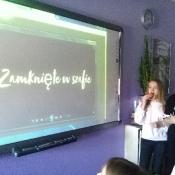 Klasa VIB świętuje 100. lekcję języka polskiego