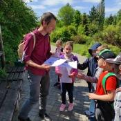 Klasy 1 w Ogrodzie Botanicznym (27.05.2021)