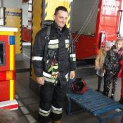 Klasy 2 i 3 z wizytą u strażaków (3.10.17)