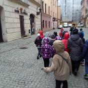 Klasy 2 na jesiennym spacerze po Lublinie (24.10.2017)