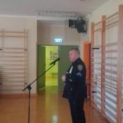Klasy 2 na spotkaniu z policjantem (26.09.2018)