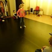 Klasy 2 na warsztatach teatralnych (19-20.10.2017)