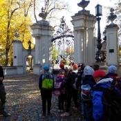 Klasy 3 wędrują po Kozłowieckim Parku Krajobrazowym (16.10.2018)