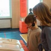 Klasy 5 na wystawie Centrum Nauki