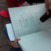 Klasy 6 czytają Czechowicza (09.09.2016)
