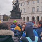 Klasy 6 na dwudniowej wycieczce w Warszawie (29-30.10.2019)