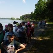 Klasy III A i III B na wycieczce pieszej - czerwiec 2016 r._4