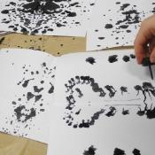 Kleksografia w klasie IVB_11